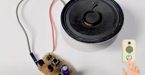 DIY Musical Doorbell Circuit using UM66T