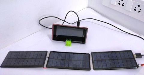 DIY Solar Mobile Phone Charger Circuit