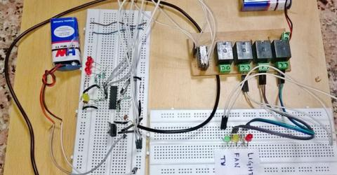 DTMF Based Home Automation System