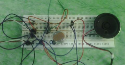 Dark Detector Alarm using 555 Timer IC and LDR Circuit