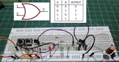 Designing OR Gate using Transistor