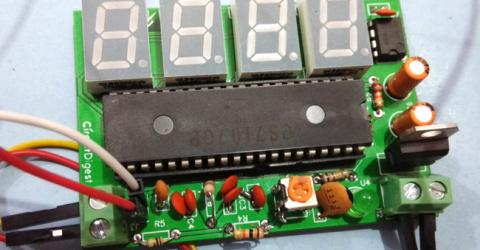 Simple Digital Voltmeter Circuit using ICL7107