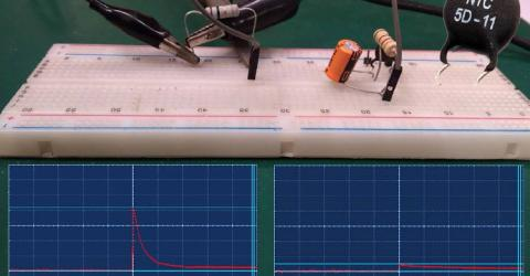 Inrush Current Limiting using NTC Thermistor