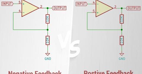 Positive Feedback Vs Negative Feedback in Op-Amps Circuits