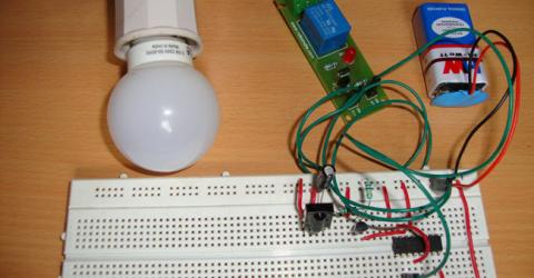 Remote Controlled Light Switch