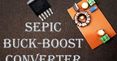 XL6009 based SEPIC Buck Boost Converter