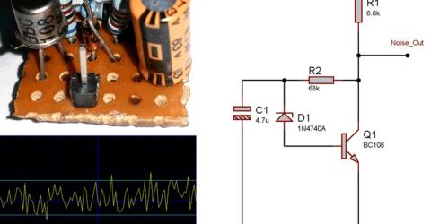 Simple White Noise Generator Circuit