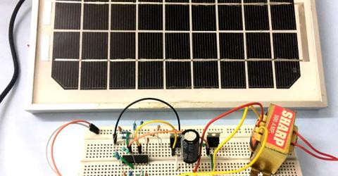 How to make Solar Inverter Circuit