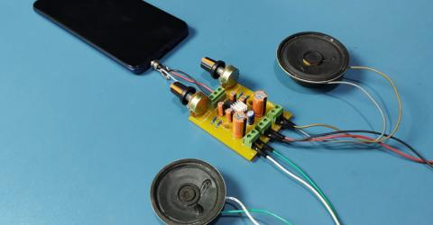 TDA2822 Stereo Audio Amplifier