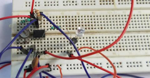 TV Remote Control Signal Jammer Circuit using IC 555