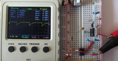Thyristor Switching using Snubber Circuit
