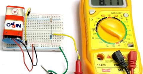 Voltage Divider Circuit Example