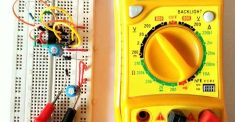 Voltage Doubler Circuit with 12v input voltage