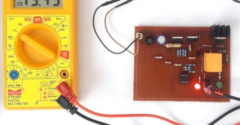 Float Charger Circuit for 12v SLA Battery