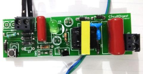 DIY Stun Gun Circuit on PCB