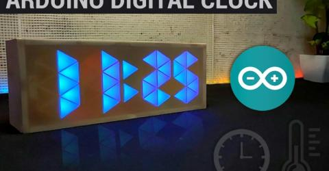 10 Segment Arduino Digital Clock