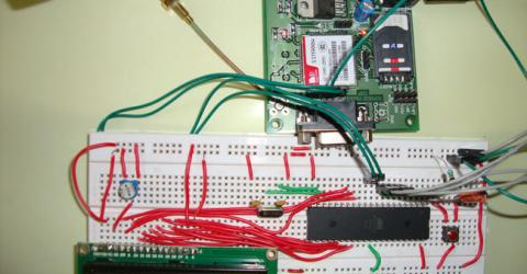 GSM Module Interfacing with 8051 Microcontroller (AT89S52)