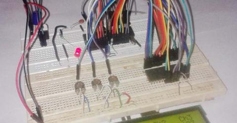 ADC0808 Interfacing with-8051 microcontroller