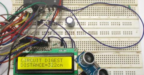 Distance Measurement using Ultrasonic Sensor and AVR Microcontroller