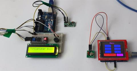 Smart Restaurant Menu Ordering System using Arduino