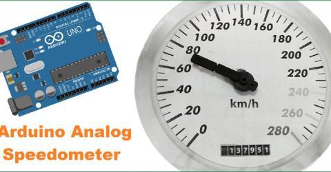 Arduino Based Analog Speedometer Using IR Sensor