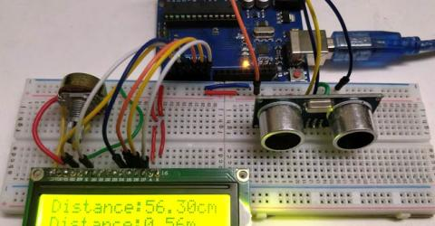 Distance Measurement using Arduino & Ultrasonic Sensor