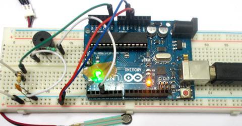 Weight Based Sound Generator using Arduino