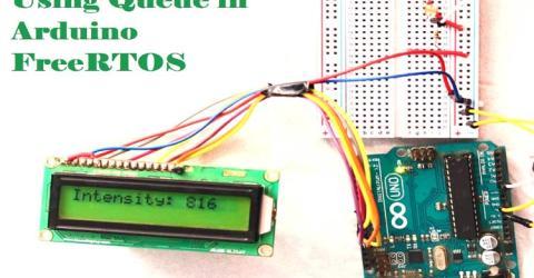 Arduino FreeRTOS using Queues