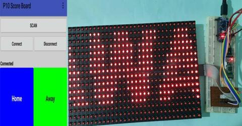 Arduino LED Score Board