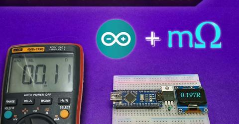 Arduino Based Low Resistance Meter