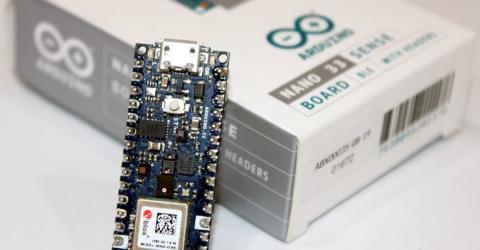 Arduino Nano 33 BLE Sense Board