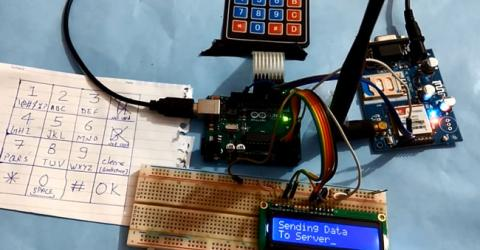 How to Send Data to Web Server using Arduino and SIM900A GPRS/GSM Module