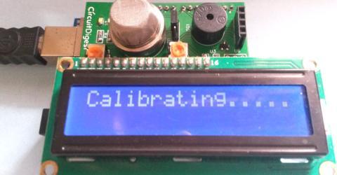 Smoke Detector using MQ2 Gas Sensor and Arduino