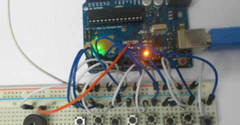 Arduino Tone Generator Project