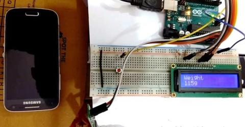 Arduino Weight Measurement using Load Cell and HX711 Module