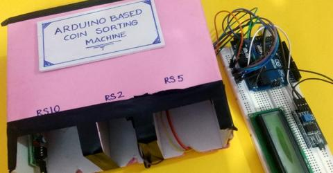 Coin Sorting Machine using Arduino