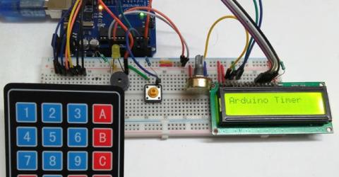 Arduino based Countdown Timer