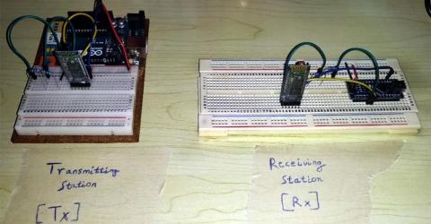 Arduino to Arduino Bluetooth Communication