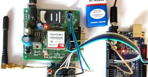 Automatic Call answering Machine using Arduino and GSM module