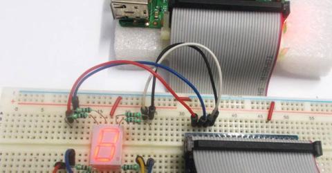 Raspberry Pi 7 Segment Display Interfacing Tutorial