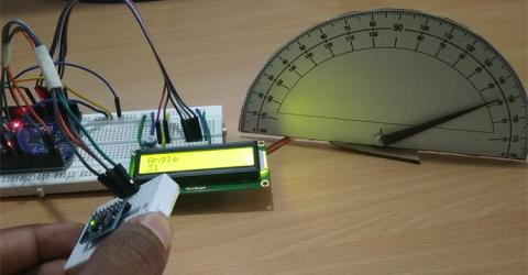 DIY Arduino Digital Protractor using MPU6050 Gyroscope