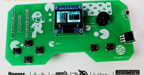 DIY Handheld Game Console using Arduino Pro Micro and Arduboy