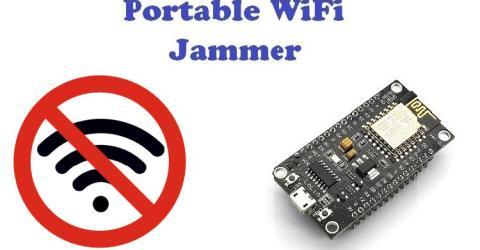 DIY Wi-Fi Jammer using NodeMCU ESP12
