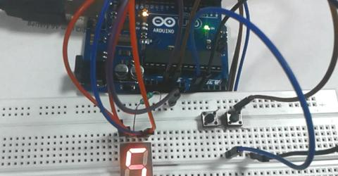 Digital Dice using Arduino