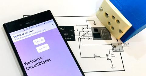 ESP8266 based DIY Smart Plug using Captive Portal