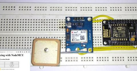 GPS Interfacing with NodeMCU: Getting Location Data