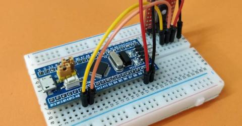 Getting Started with STM32 Development Board (STM32F103C8T6) using Arduino IDE