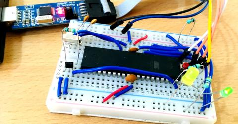 Hall Sensor Interfacing with AVR Microcontroller ATmega16