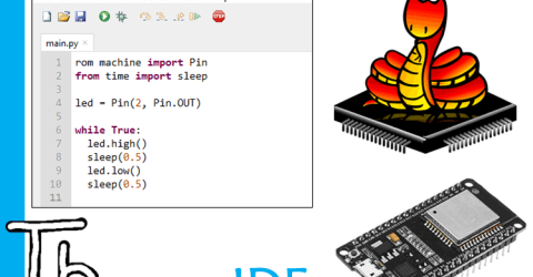 How to Program ESP32 in MicroPython using Thonny IDE