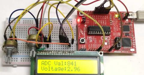 How to use ADC in MSP430G2 - Measuring Analog Voltage